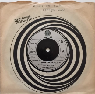 "Status Quo - Break The Rules (7"") (VG-/VG-)"